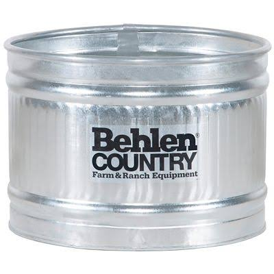 Behlen Country Galvanized Steel Round Stock Tank Approximately - 3'