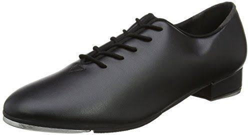 So Danca TA05 Tap Shoes | Adult Lace Up Tap Shoes Adult 6.5 / Black / Medium