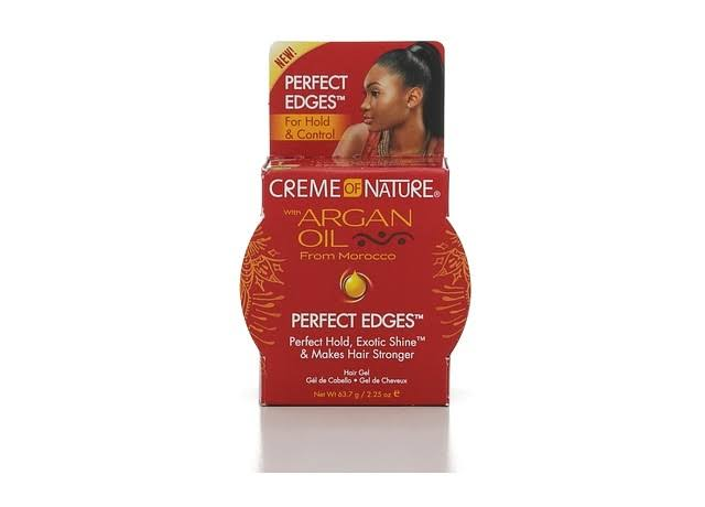 Creme of Nature Limited Edition Perfect Edges Hair Gel with Argan Oil from Morocco - 2.25 oz
