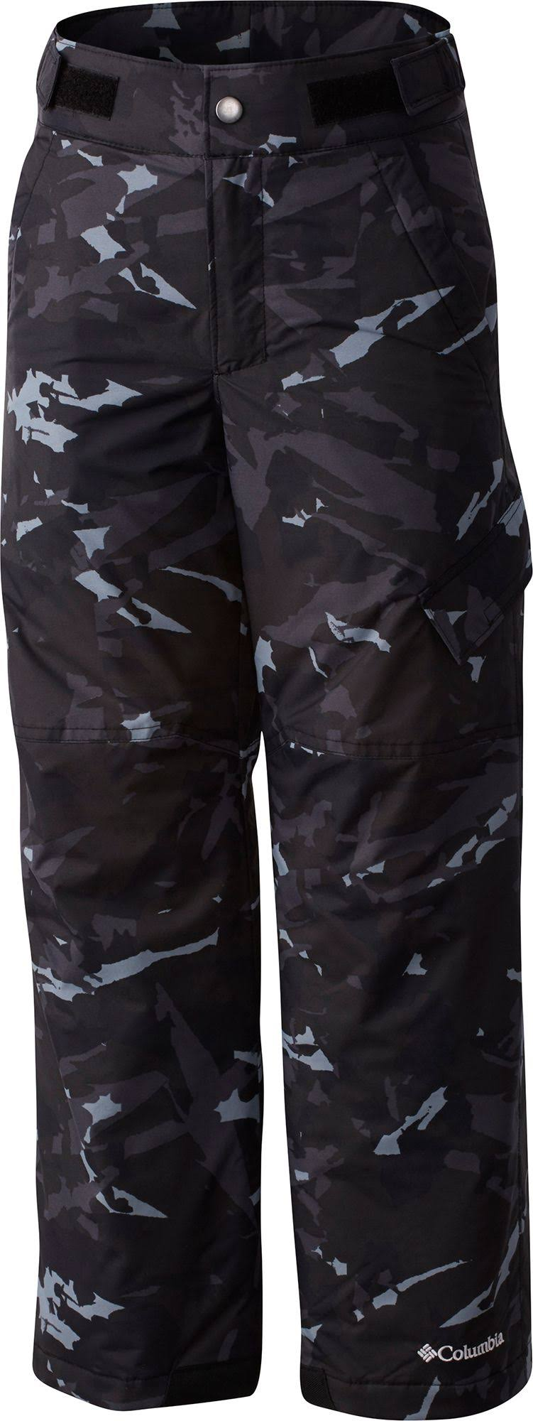 Columbia Youth Ice Slope II Insulated Pants, Size: XS, Black