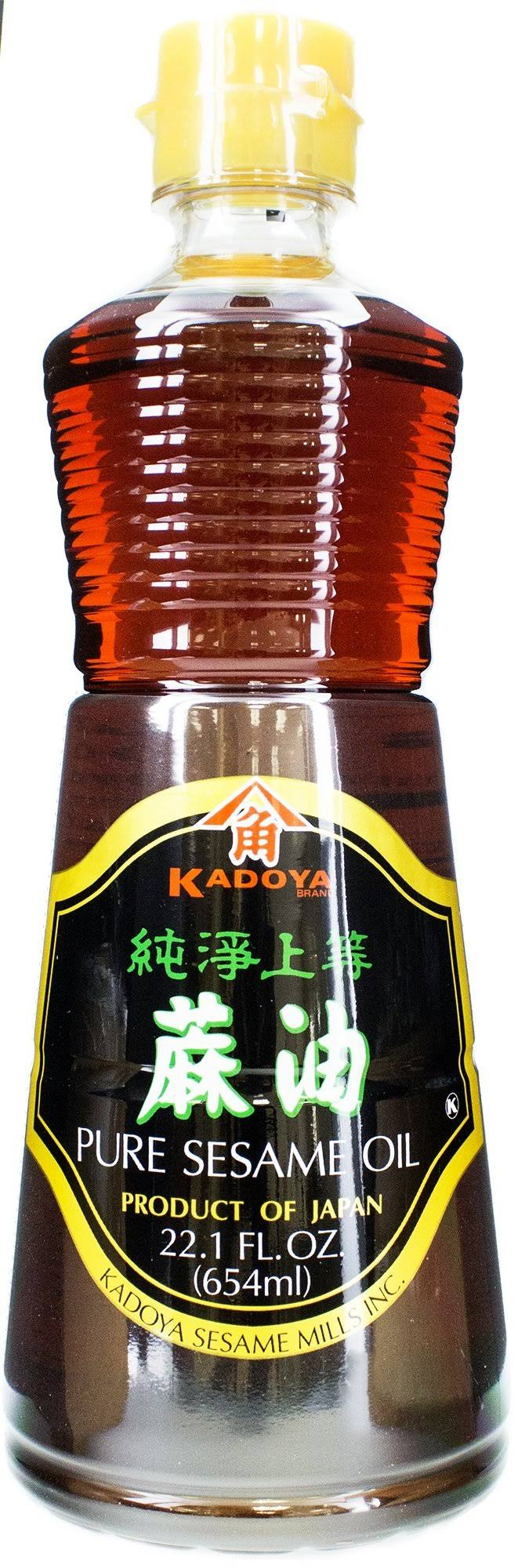 Kadoya Sesame Oil 22.10 Fluid Ounce