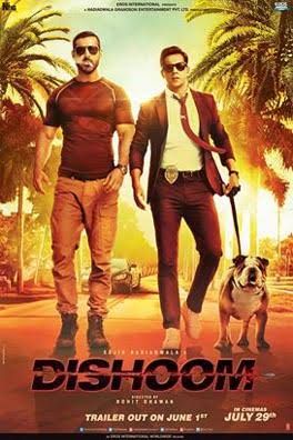 Download Dishoom (2016) Hindi Full Movie in 720p DVDRip