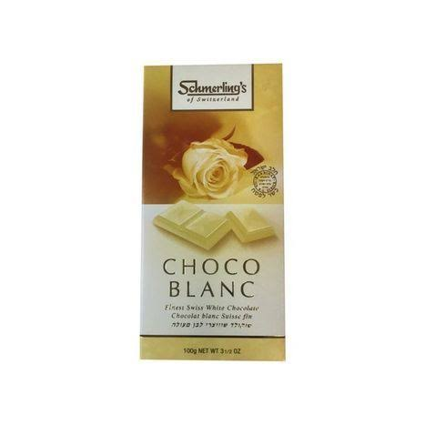 Schmerling's Choco Blanc, Finest Swiss White Chocolate
