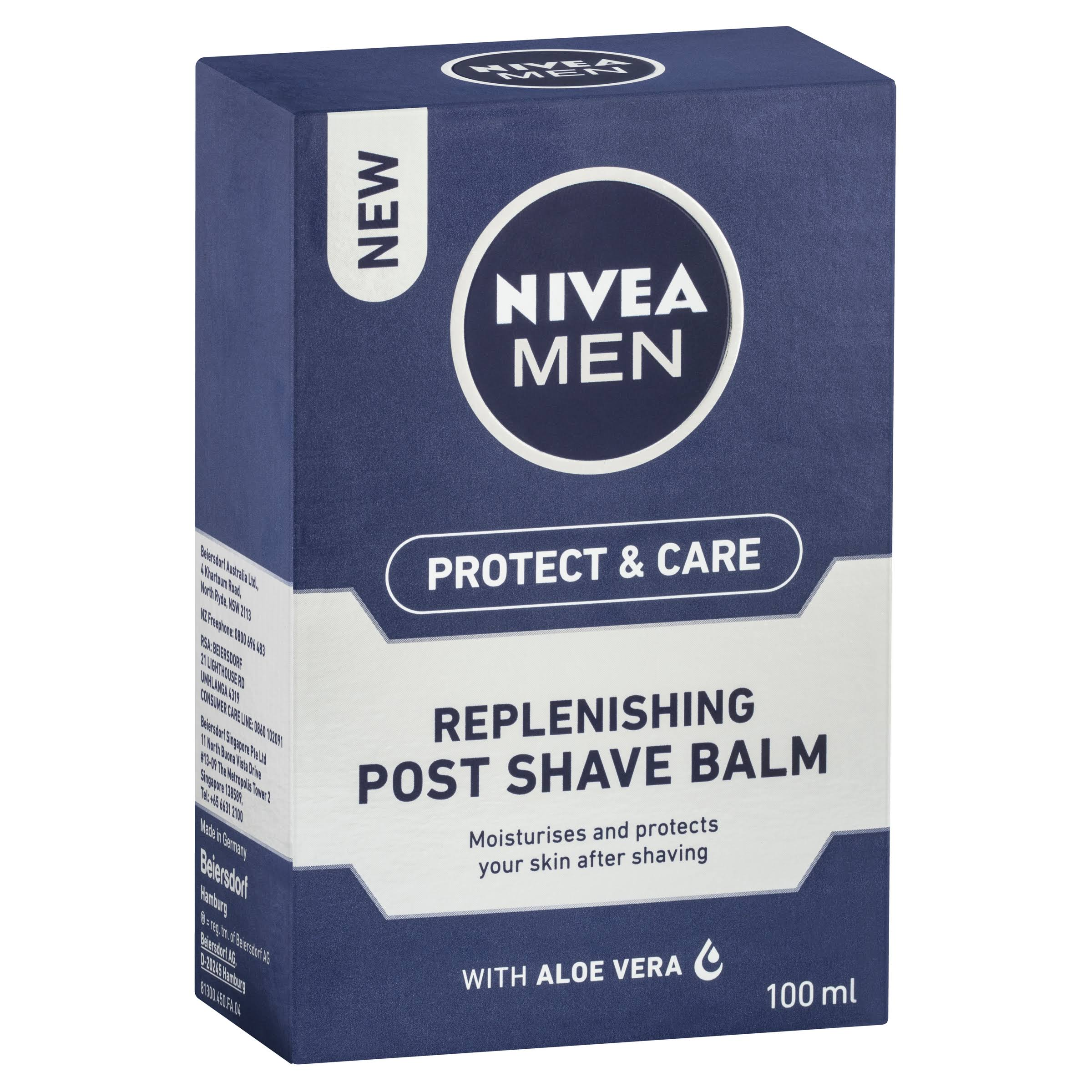 Nivea Men Protect and Care Replenishing Post Shave Balm - 100ml