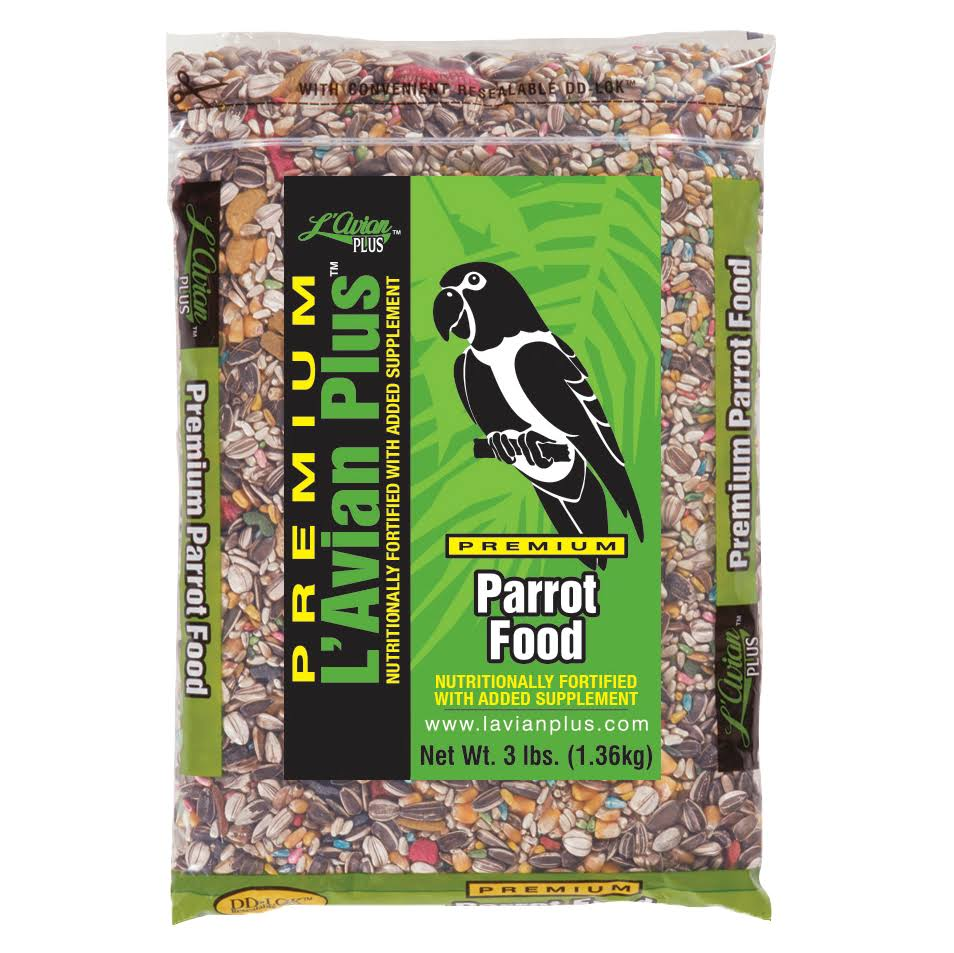 L'Avian Plus La Parrot Bird Food 3 lb