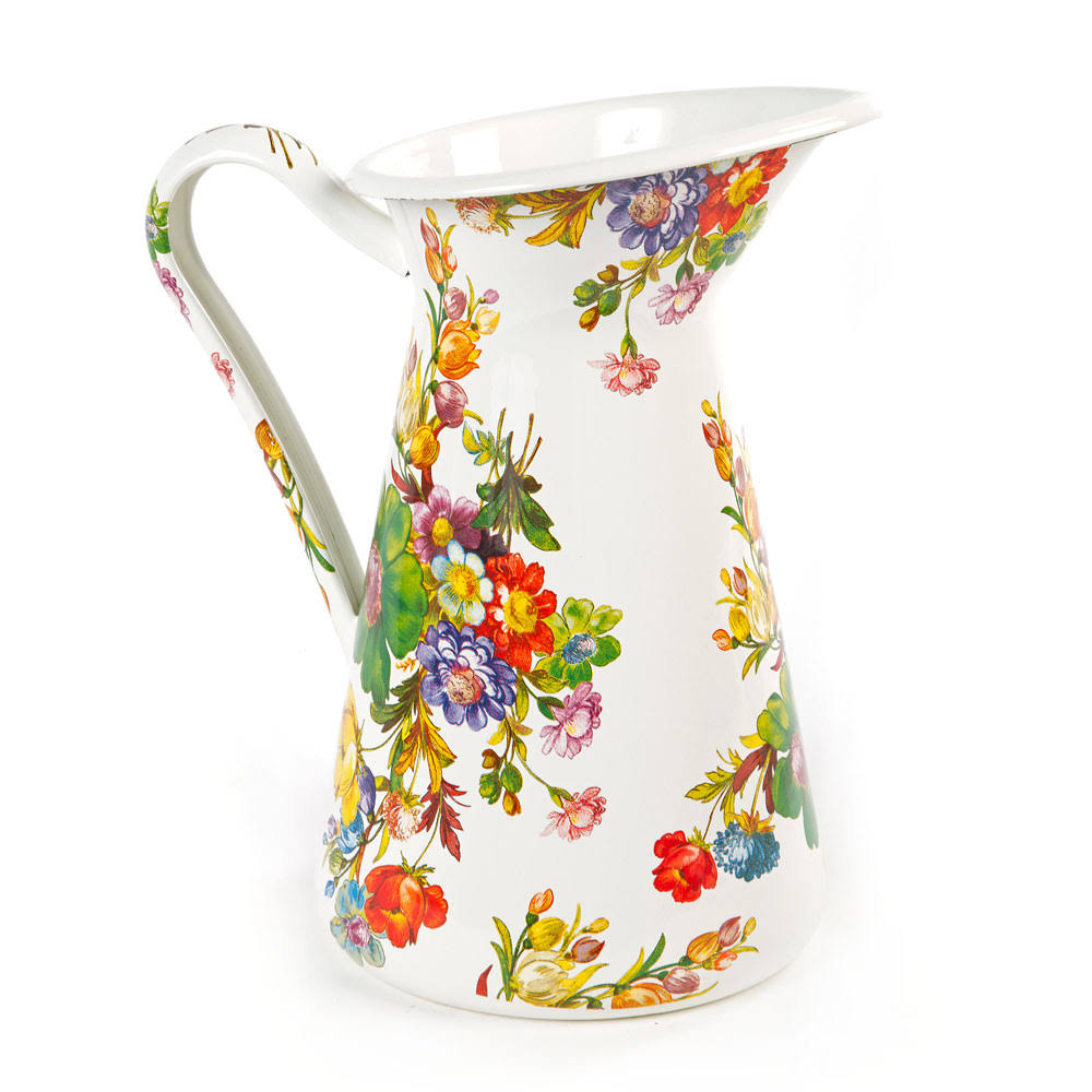 MacKenzie-Childs Flower Market Practical Pitcher