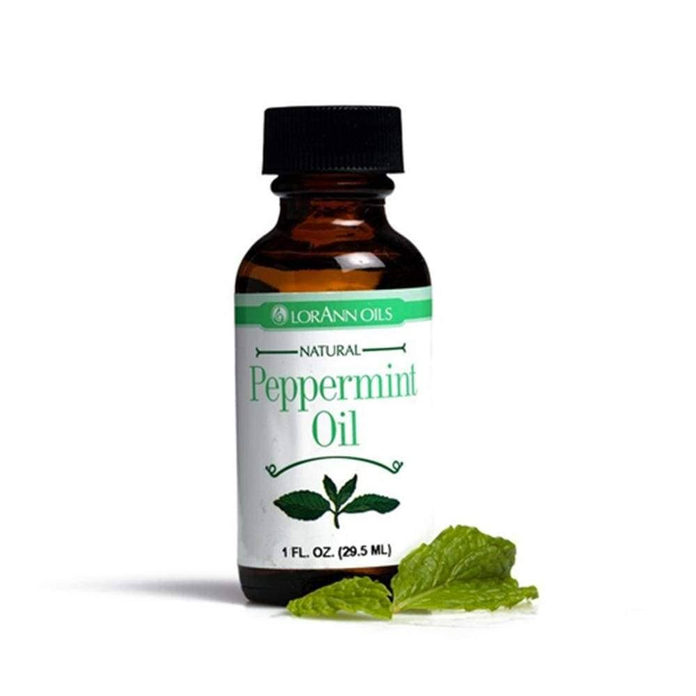 Lorann Flavoring Oil - Peppermint, 29.5ml