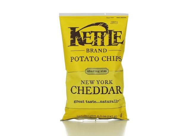Kettle Brand Potato Chips - New York Cheddar, 8.5oz
