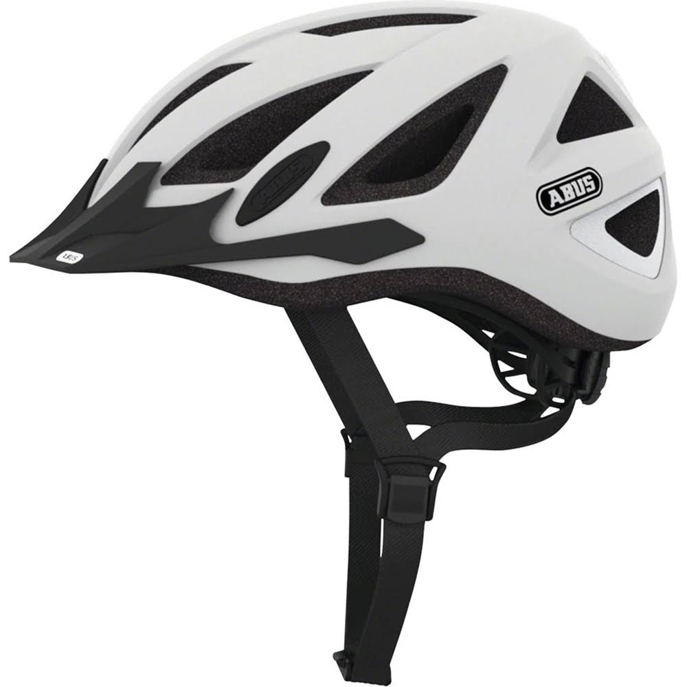 Abus Urban-I V.2 Helmet - Polar Matte White, Medium