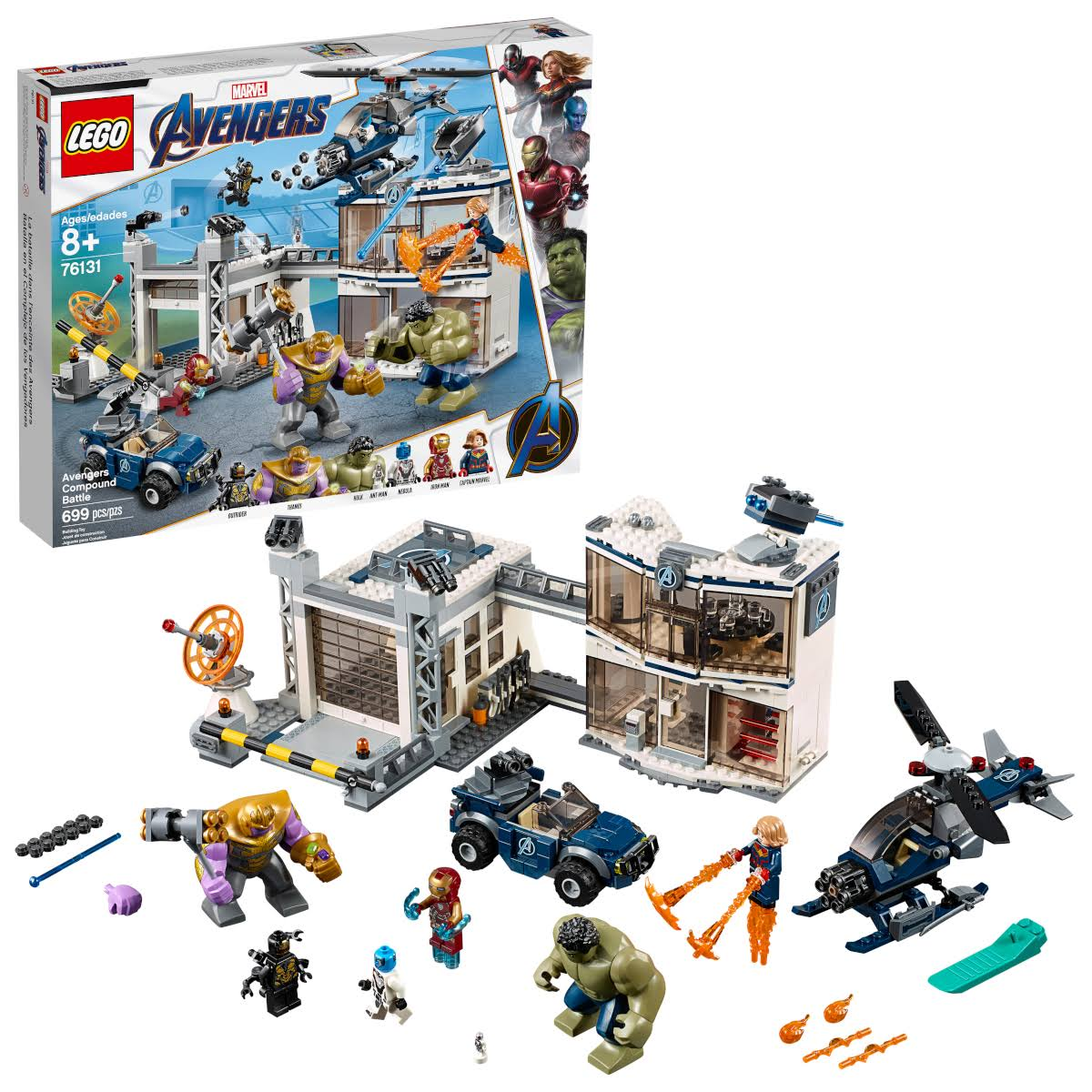 Lego 76131 Marvel Avengers Compound Battle