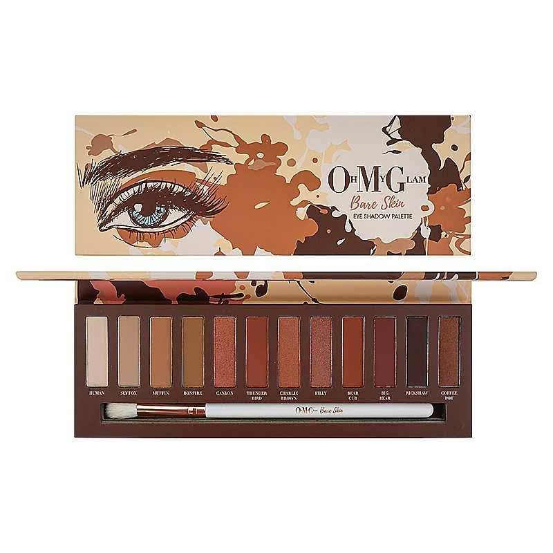 Oh My Glam Bare Skin Eye Shadow Palette