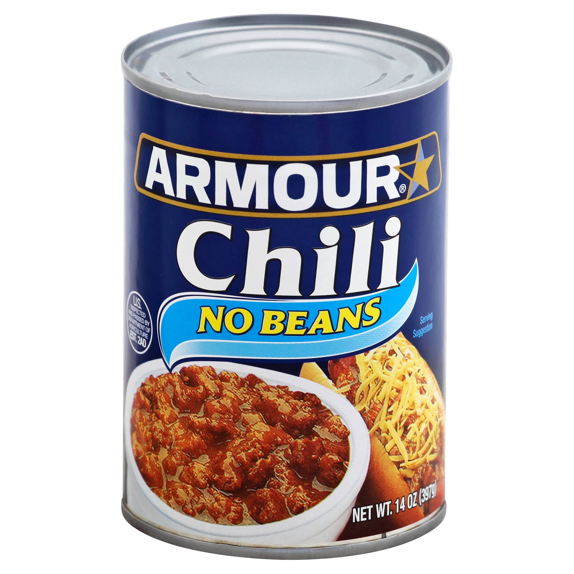 Armour No Beans Chili - 14oz