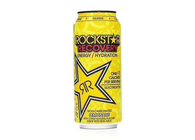 Rockstar Recovery Energy Drink - Lemonade