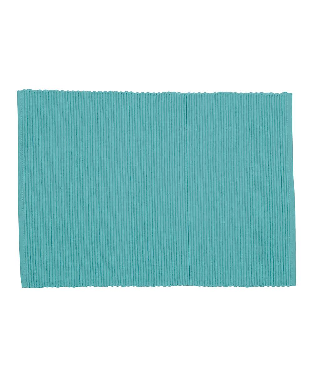 Now Designs Placemats Turquoise - Turquoise Spectrum Place Mat