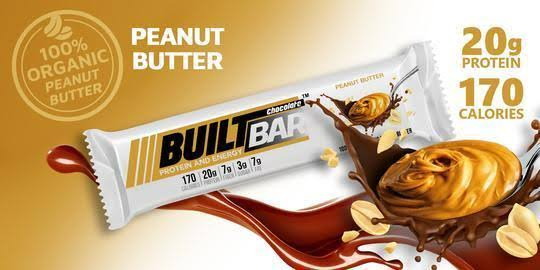 Built Bar Peanut Butter - 18 Bars