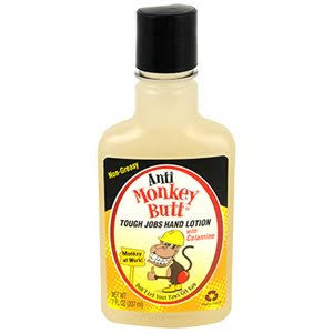 Anti Monkey Butt Tough Jobs Hand Lotion - 7oz