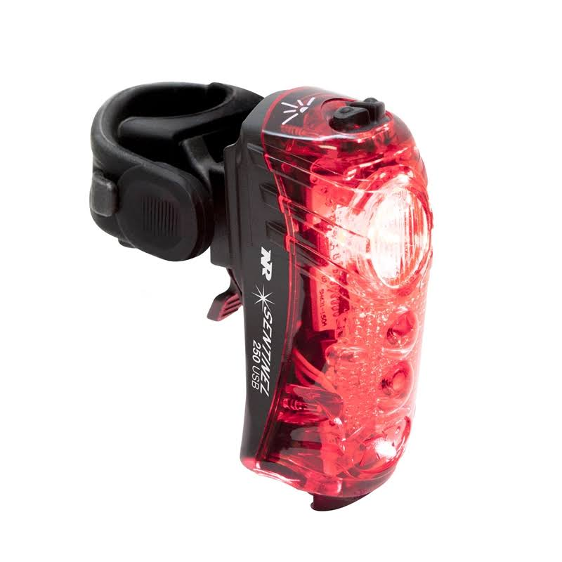 NiteRider Sentinel 250 Rear Light Black