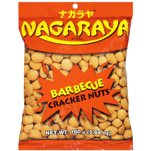 Nagaraya Cracker Nuts - Barbeque, 5.64oz