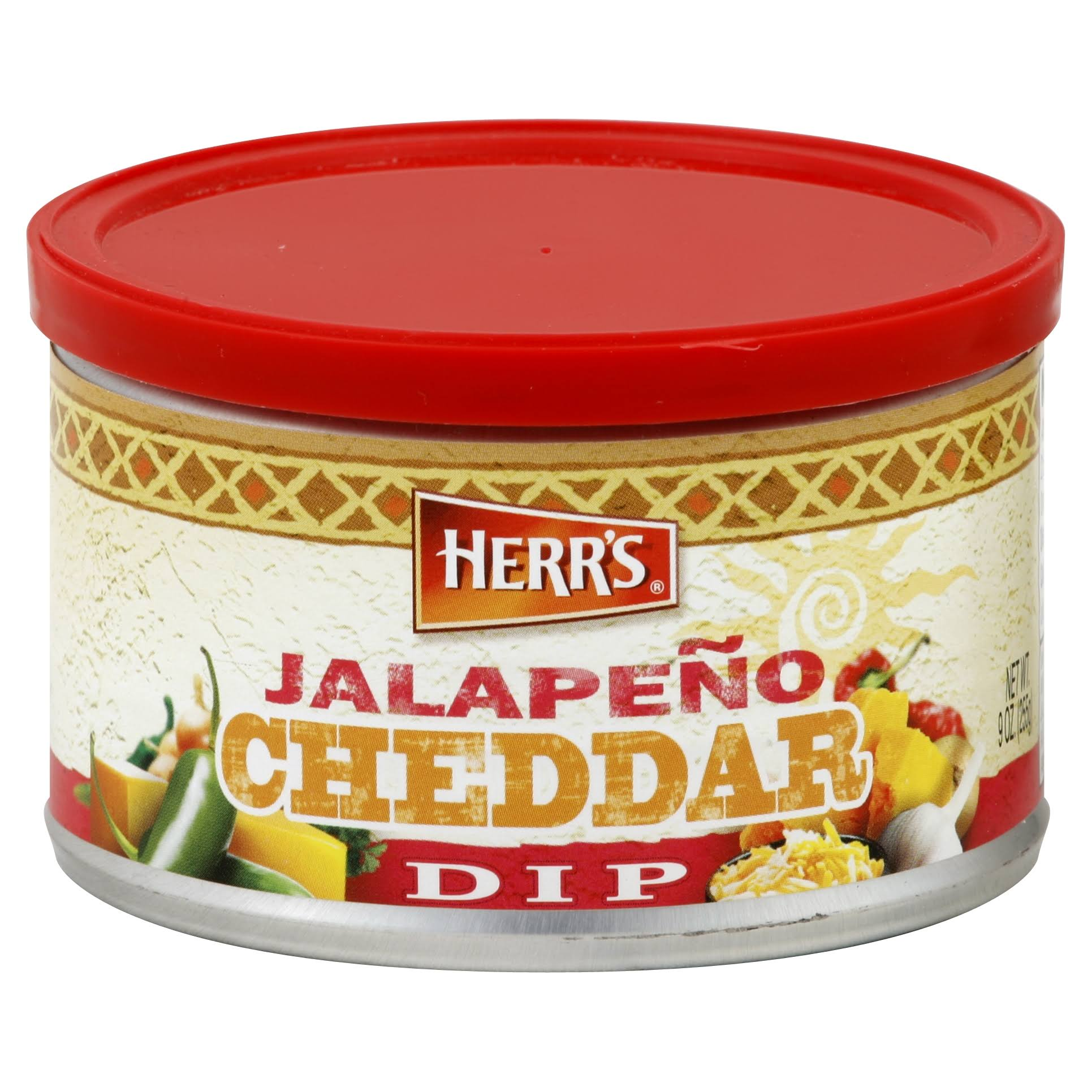 Herrs Jalapeno Cheddar Cheese Dip Sauce - 255g