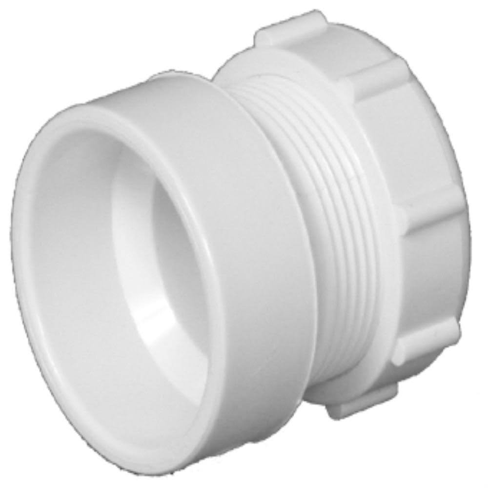 "Charlotte PVC Pipe Female Trap Adapter - 1.5"" x 1.25"""