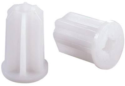 Shepherd Hardware 19069 Plastic Furniture Sockets - 4pk, 3/4""