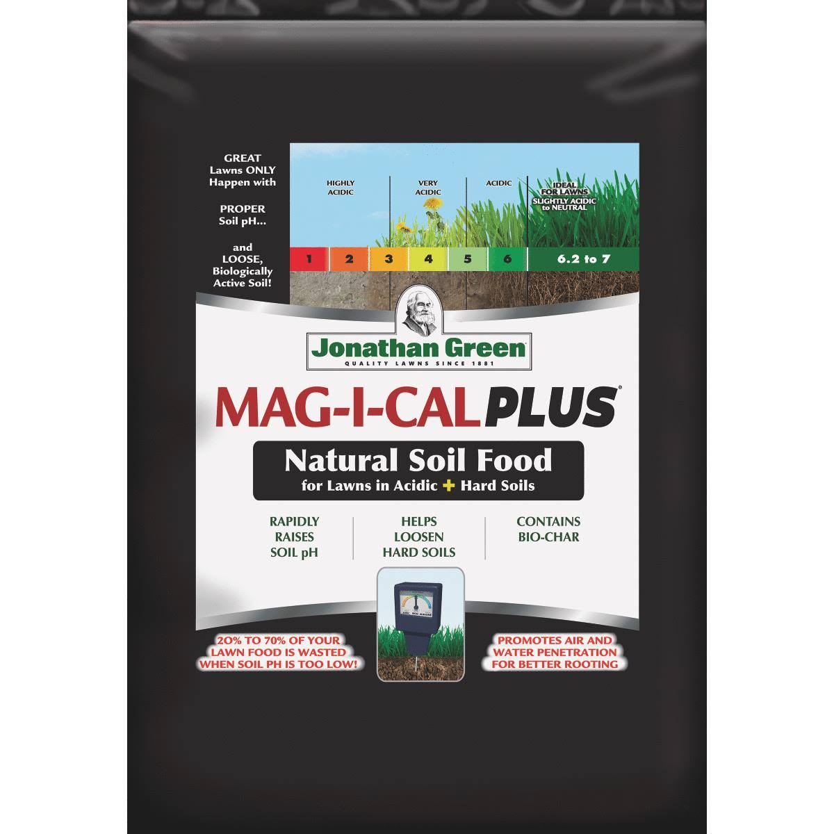 Jonathan Green Mag-I-Cal Plus Lawn Fertilizer for Acidic Soil 11354