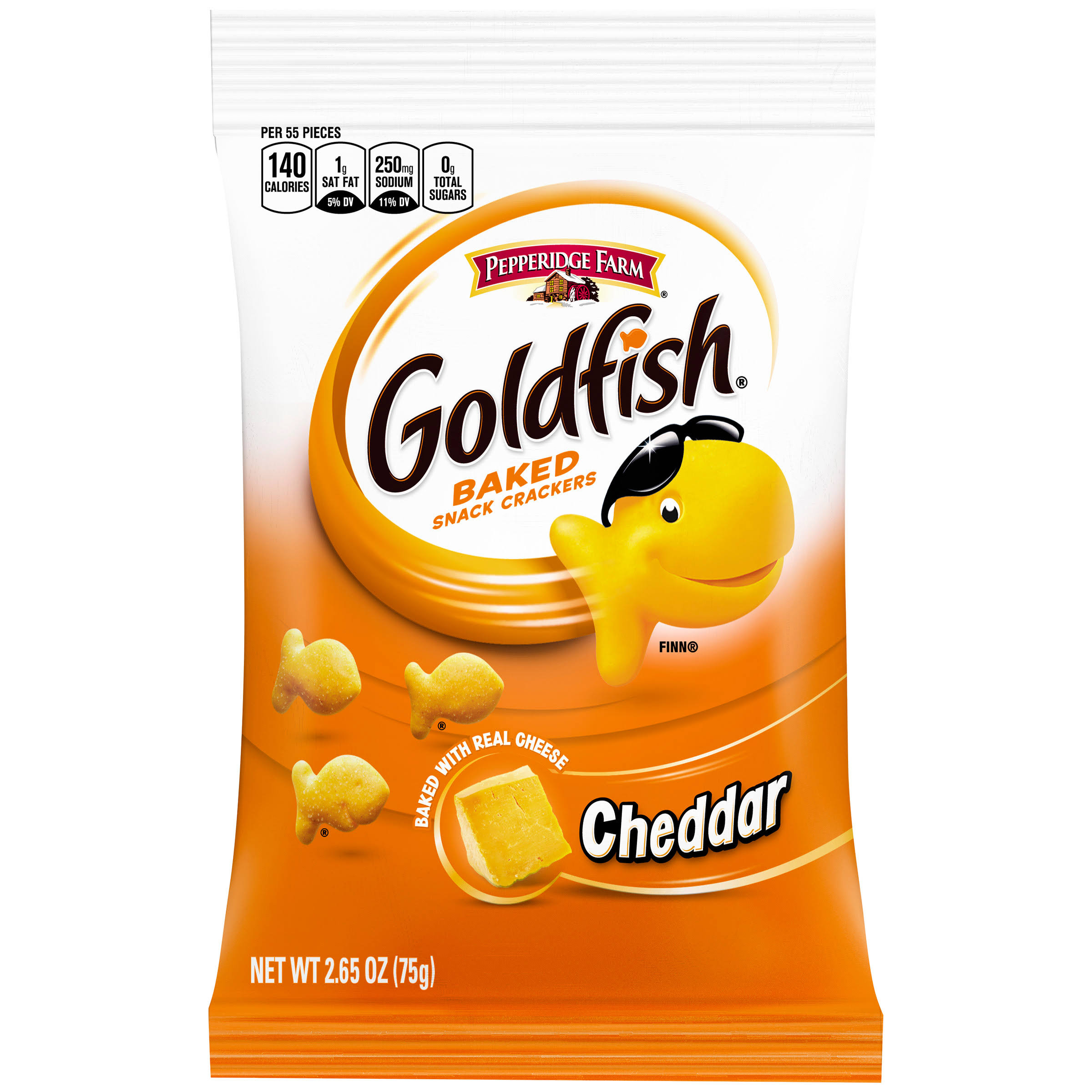 Pepperidge Farm Goldfish Baked Snack Crackers - Cheddar Cheese, 2.5oz