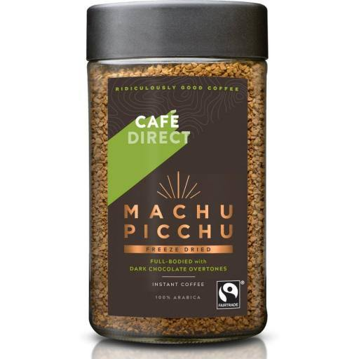 Cafédirect Fairtrade Machu Picchu Instant Coffee - Freeze Dried, 100g