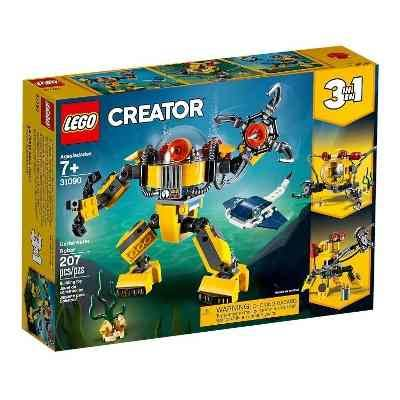Lego Building Toy, Creator, Underwater Robot, 3 in 1