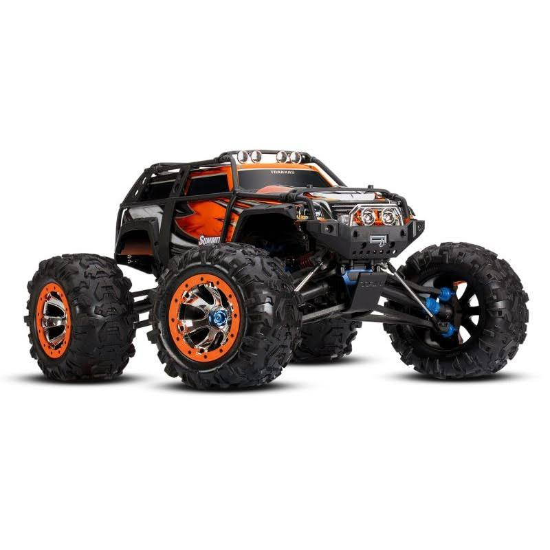 Traxxas Summit Green 4wd RTR RC Monster Truck RC Model Kit - 1:10 Scale