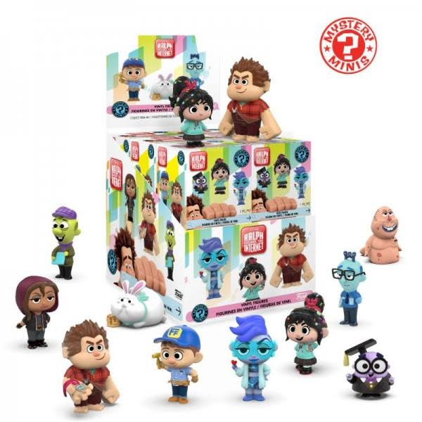 Wreck-It Ralph 2 Mystery Minis