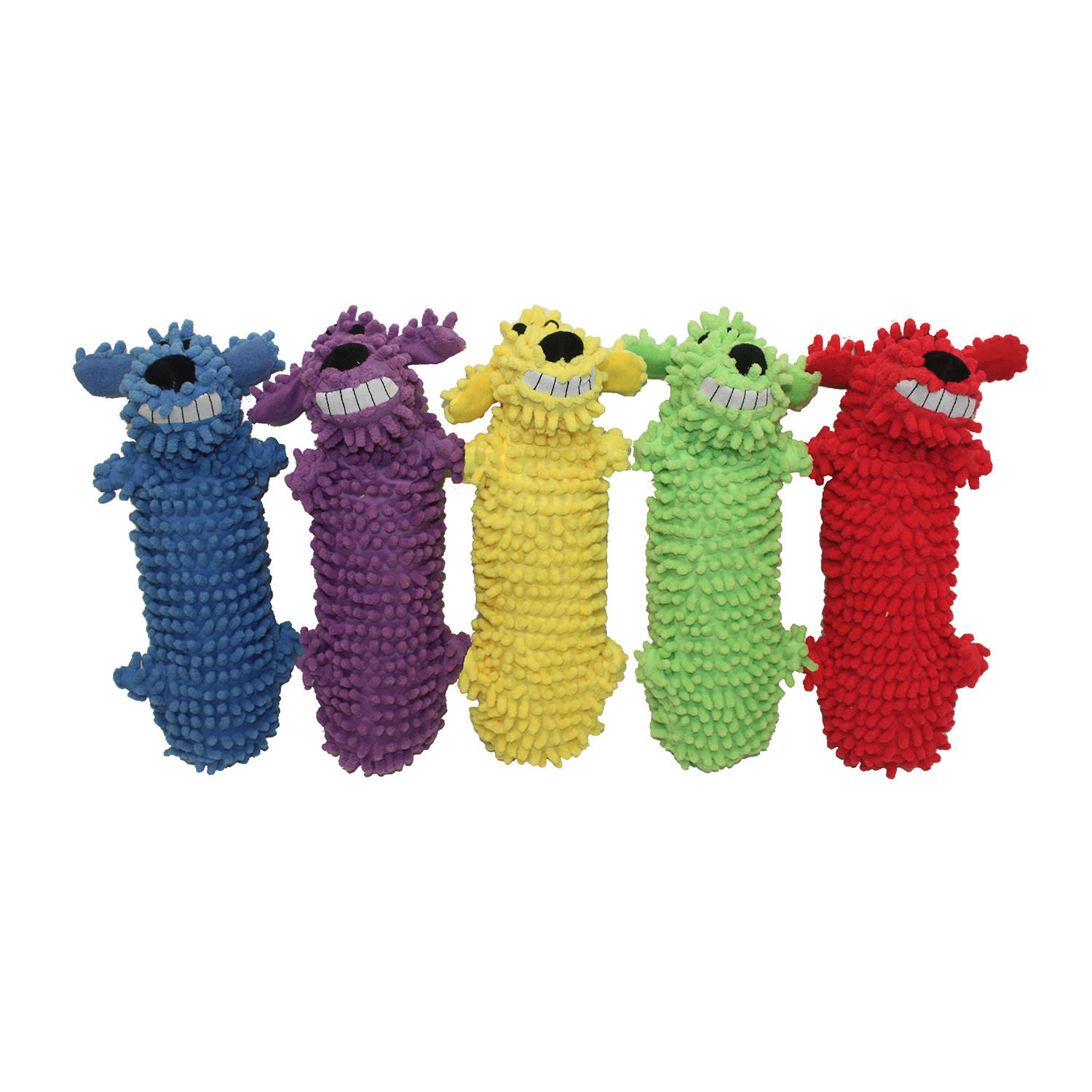 Multipet Loofa Water Bottle Buddy Dog Toy - 11""