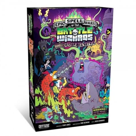 Cryptozoic Entertainment Epic Spell Wars Of The Battle Wizards II Rumble Of Castle Tentakill