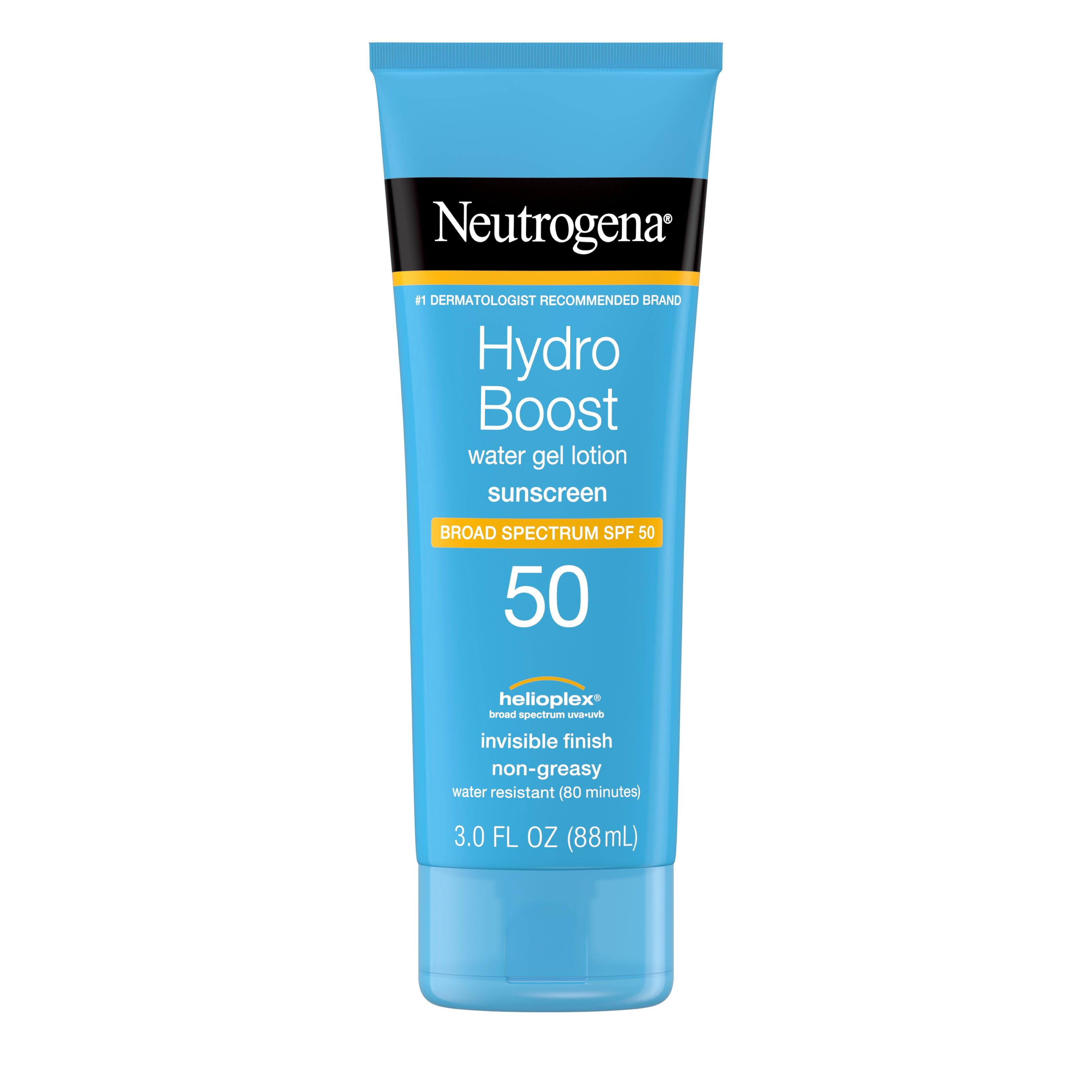 Neutrogena Hydro Boost Gel Moisturizing Sunscreen Lotion - SPF 50, 3oz