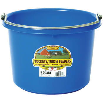 Miller Little Giant Bucket - Blue, 8 Qt