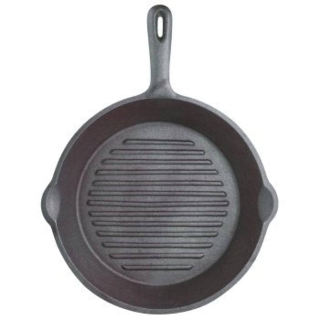 Kitchen Craft Clearview Grill Pan - Cast Iron, 24cm