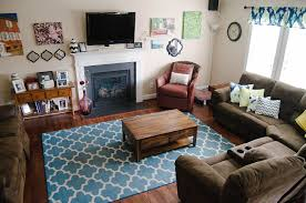 Brown Living Room Decorations by Home Decor Our Updated Living Room Tour Still Being Molly