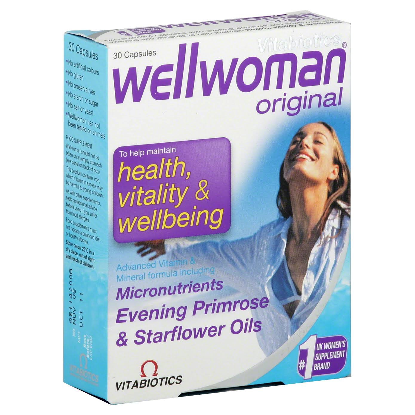 Vitabiotics Wellwoman Original Tablets - 30 Capsules