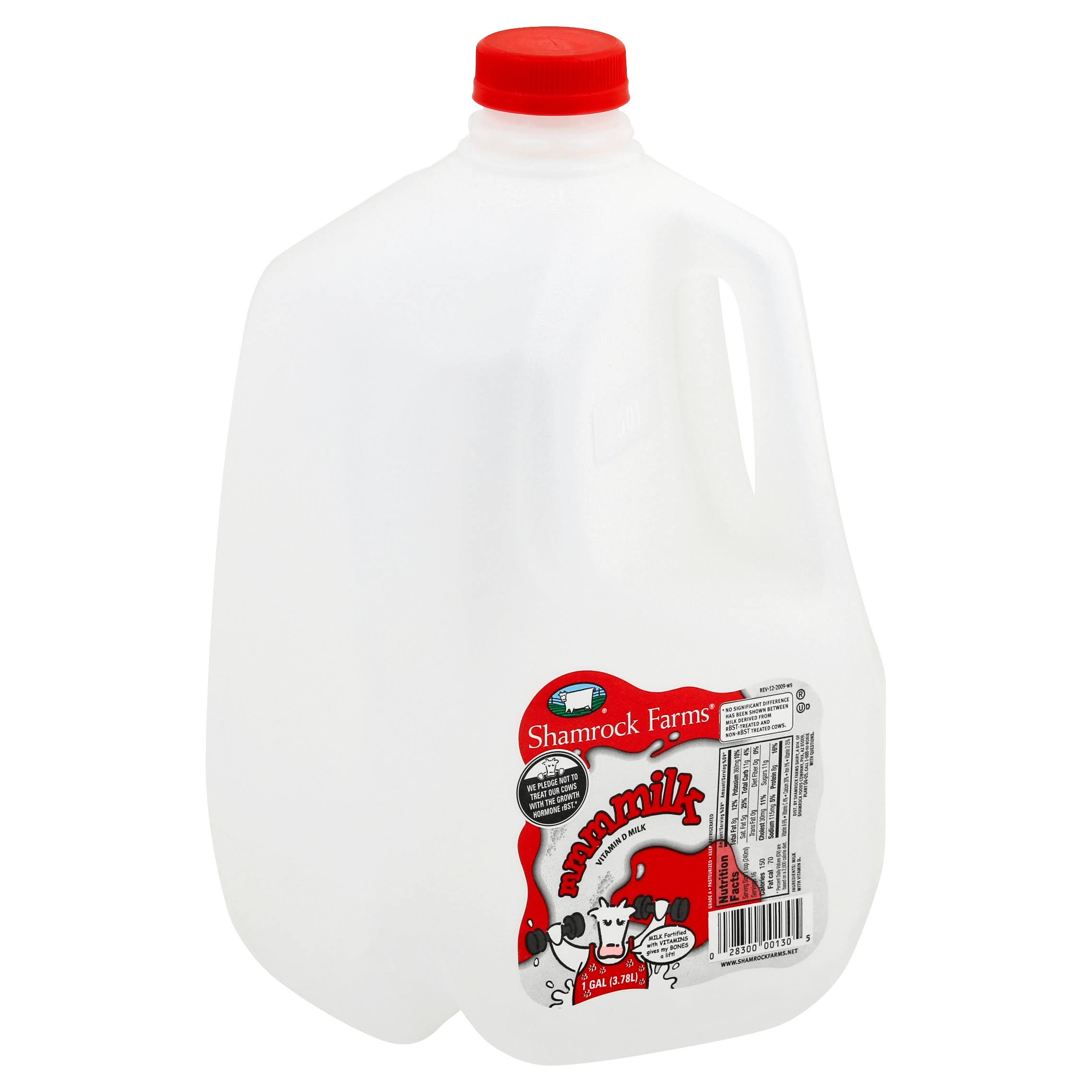 Shamrock Farms Vitamin D Whole Milk - 1gal