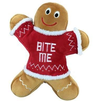 Lulubelles Power Plush Eddie Gingerbread Man Toy - Small