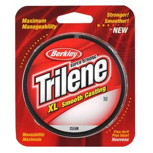 "Berkley Trilene XL Filler Fishing Line, 8lbs, 0.01"" Dia"