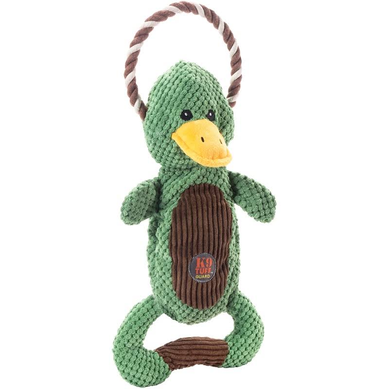 Charming Pet Products Scrunch Bunch 2.0 Duck Toy
