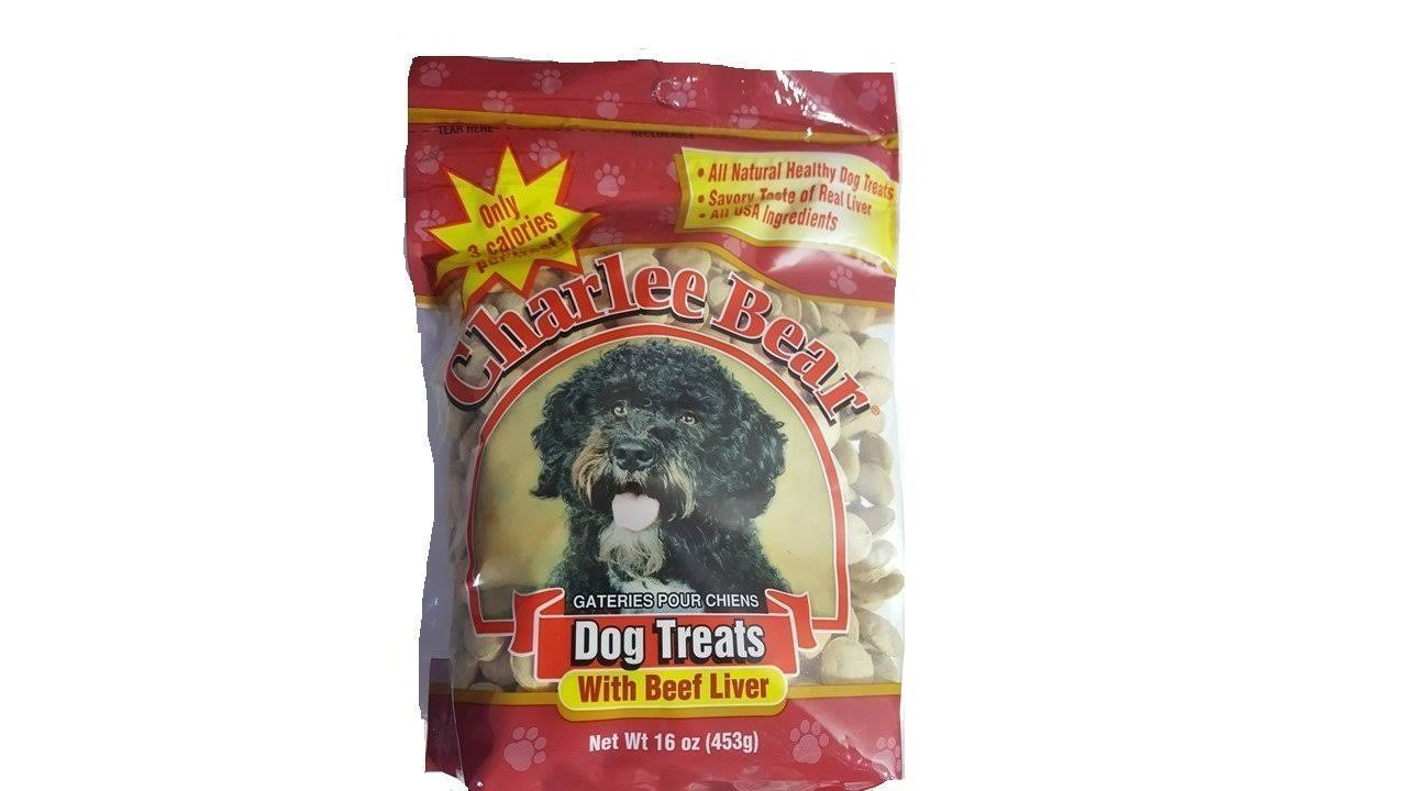 Charlee Bear Dog Treats with Beef Liver 16 oz JJ303136