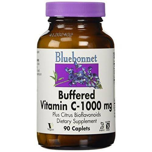 BlueBonnet Buffered Vitamin C - 1000mg, 90 Caplets