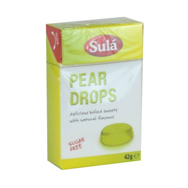 Sula - Pear Drops 42g
