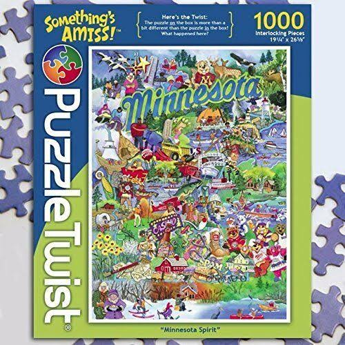 Something's Amiss! 1000 Piece Jigsaw Puzzle Minnesota Spirit