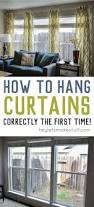No Drill Window Curtain Rod by Best 25 Hanging Curtains Ideas Only On Pinterest Window