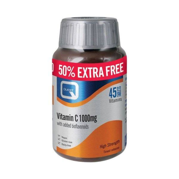 Quest Vitamin C 1000mg Extra Fill