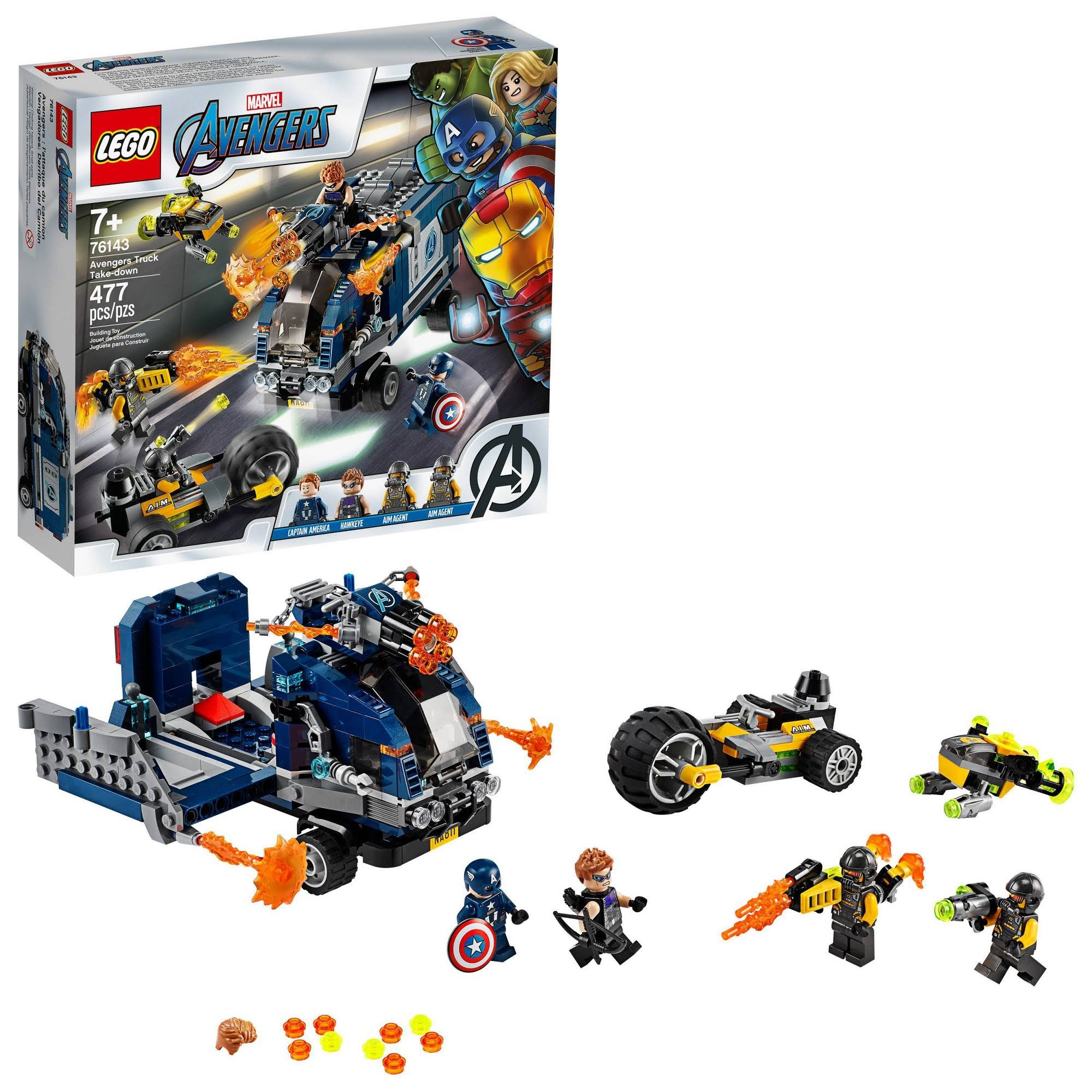 Lego - Marvel Avengers Truck Take-Down 76143