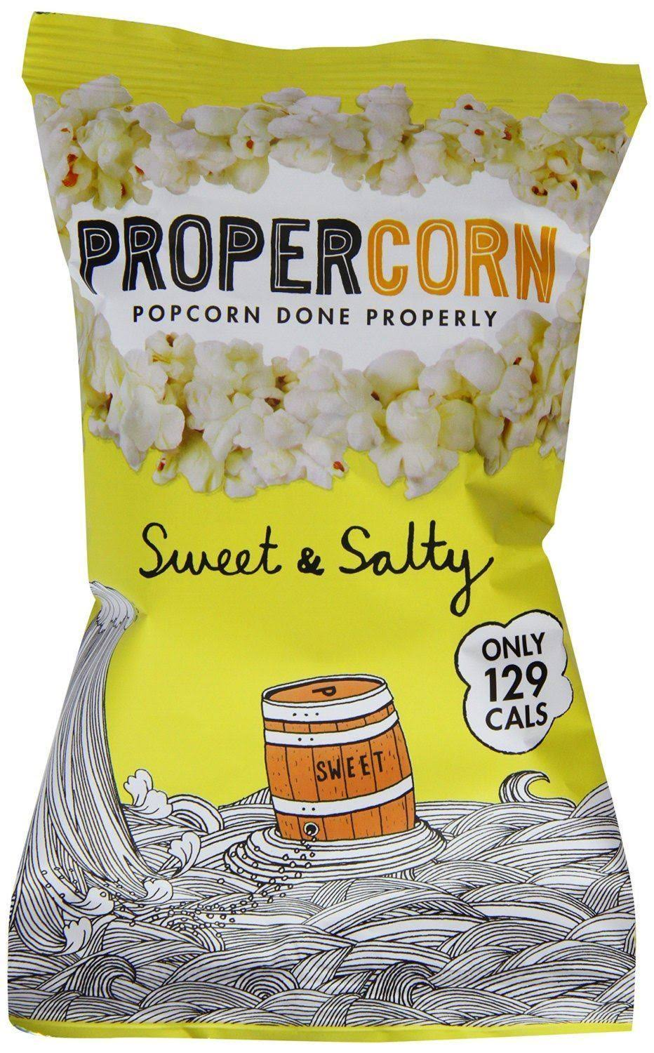 Propercorn Popcorn - Sweet and Salty, 30g
